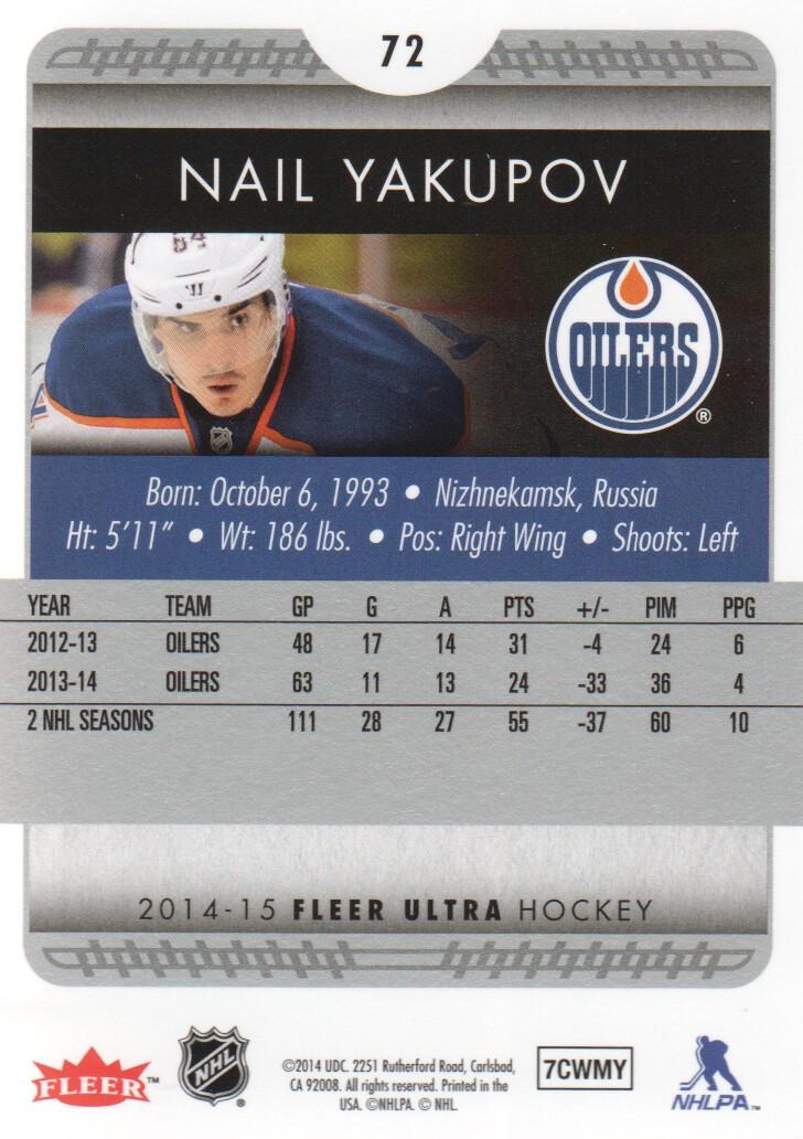 2014-15-Ultra-Hockey-Card-s-1-200-Rookies-You-Pick-Buy-10-cards-FREE-SHIP thumbnail 143