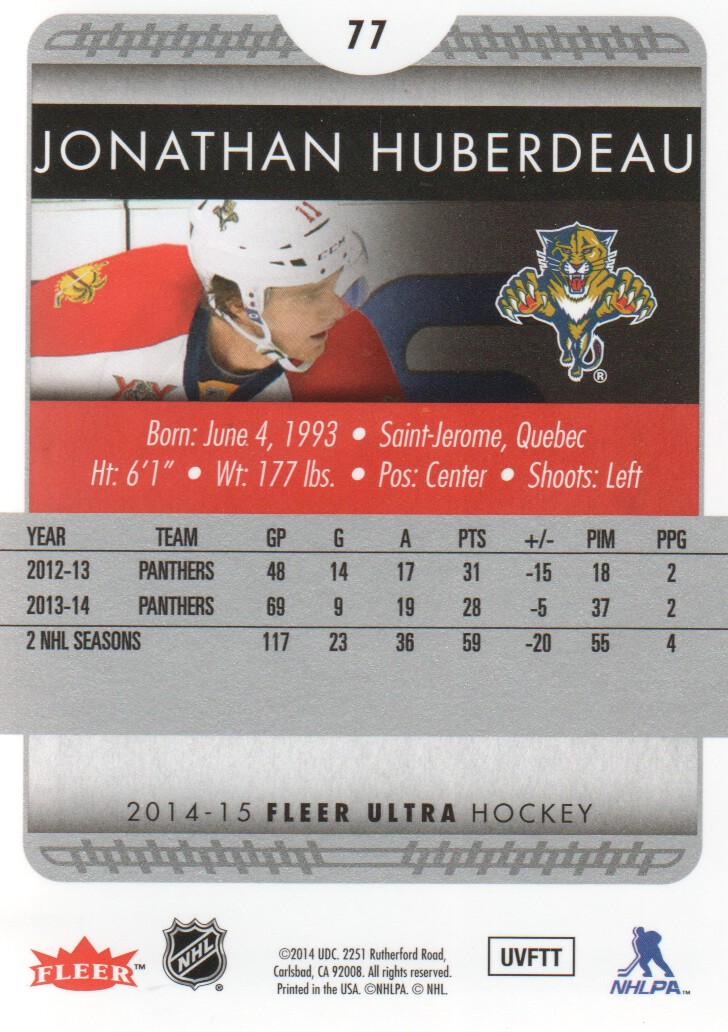 2014-15-Ultra-Hockey-Card-s-1-200-Rookies-You-Pick-Buy-10-cards-FREE-SHIP thumbnail 153