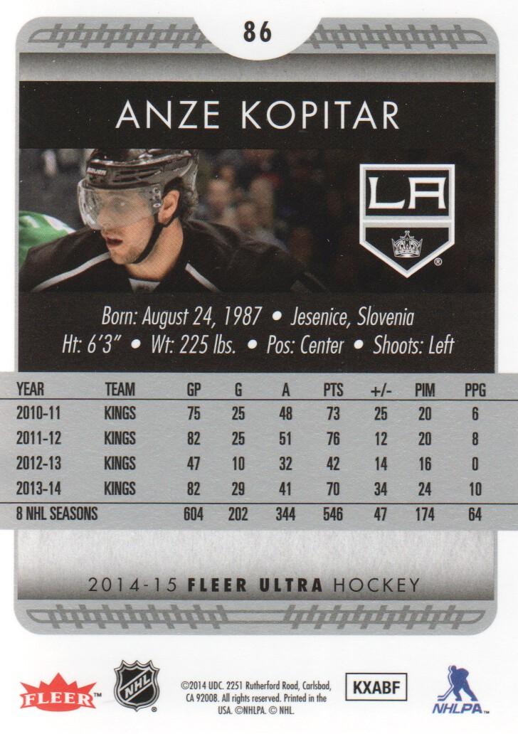 2014-15-Ultra-Hockey-Card-s-1-200-Rookies-You-Pick-Buy-10-cards-FREE-SHIP thumbnail 171