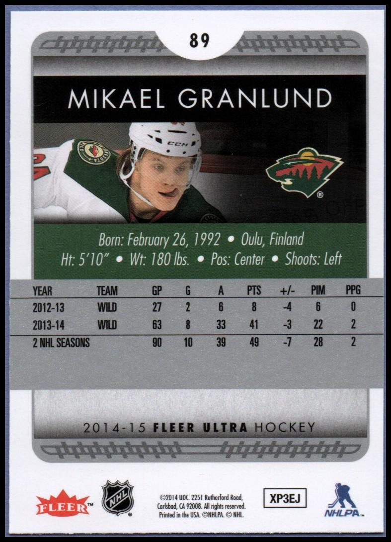 2014-15-Ultra-Hockey-Card-s-1-200-Rookies-You-Pick-Buy-10-cards-FREE-SHIP thumbnail 177