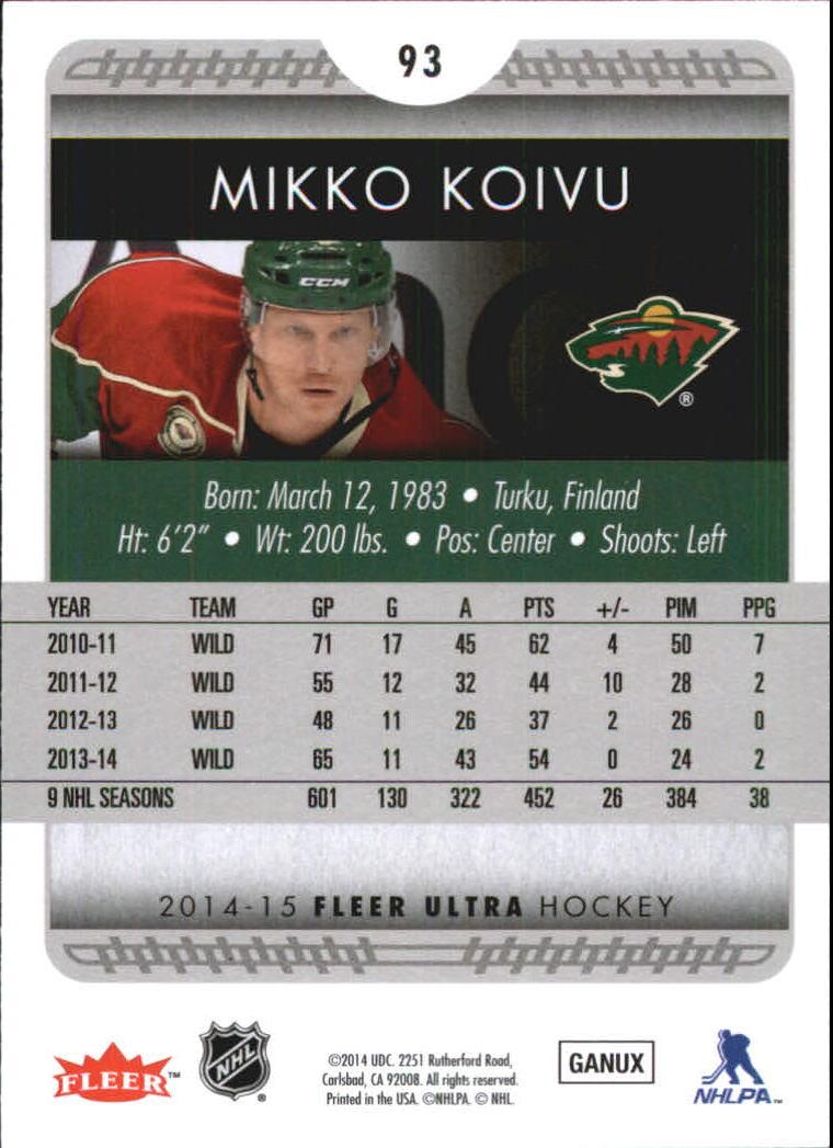 2014-15-Ultra-Hockey-Card-s-1-200-Rookies-You-Pick-Buy-10-cards-FREE-SHIP thumbnail 185