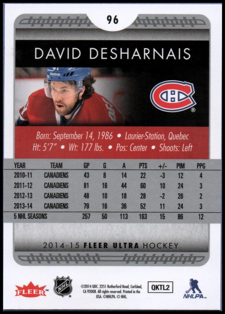 2014-15-Ultra-Hockey-Card-s-1-200-Rookies-You-Pick-Buy-10-cards-FREE-SHIP thumbnail 191