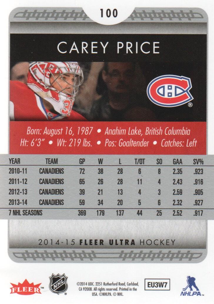 2014-15-Ultra-Hockey-Card-s-1-200-Rookies-You-Pick-Buy-10-cards-FREE-SHIP thumbnail 199