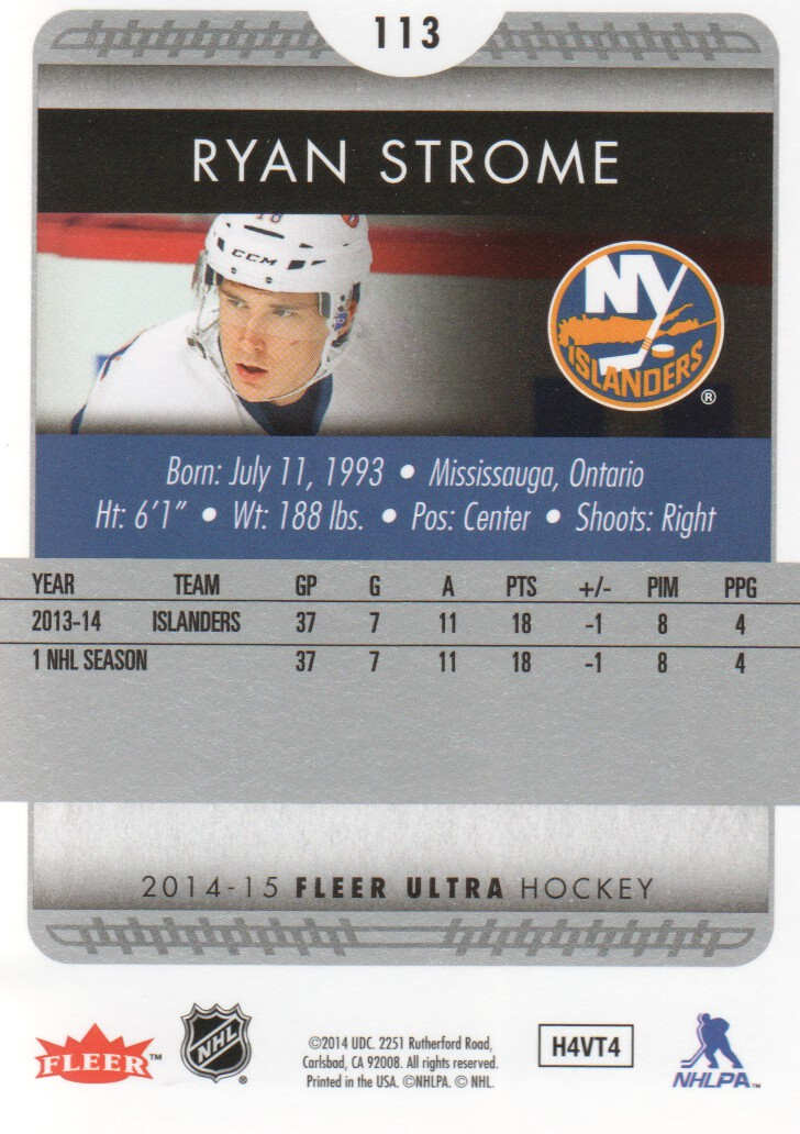 2014-15-Ultra-Hockey-Card-s-1-200-Rookies-You-Pick-Buy-10-cards-FREE-SHIP thumbnail 223