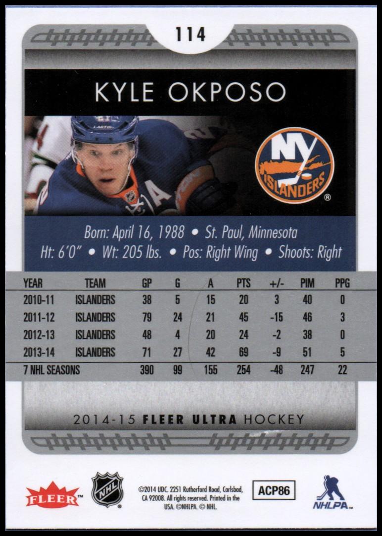 2014-15-Ultra-Hockey-Card-s-1-200-Rookies-You-Pick-Buy-10-cards-FREE-SHIP thumbnail 225