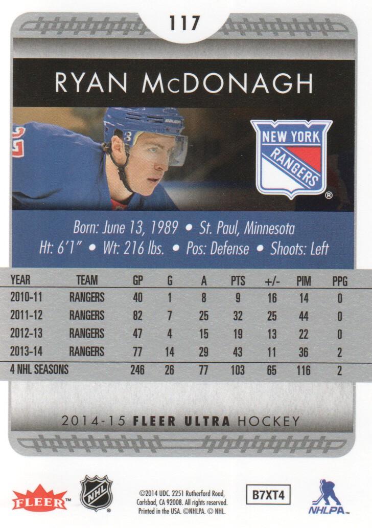 2014-15-Ultra-Hockey-Card-s-1-200-Rookies-You-Pick-Buy-10-cards-FREE-SHIP thumbnail 231