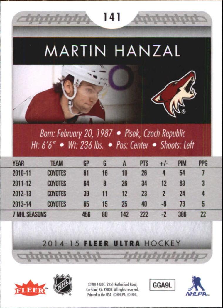 2014-15-Ultra-Hockey-Card-s-1-200-Rookies-You-Pick-Buy-10-cards-FREE-SHIP thumbnail 279