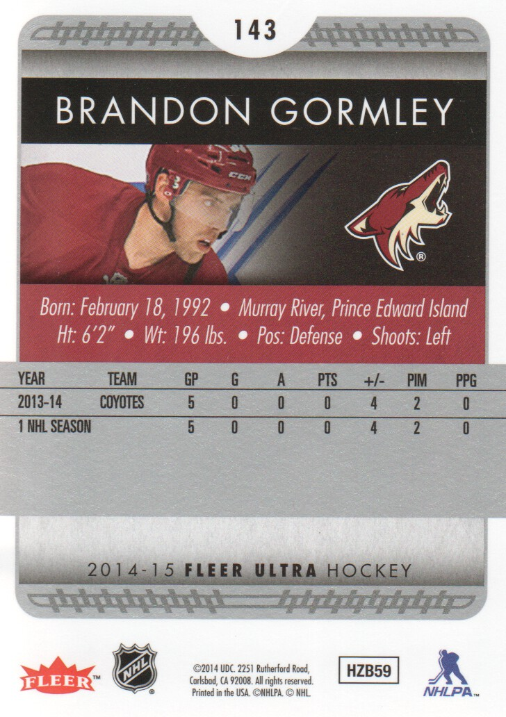 2014-15-Ultra-Hockey-Card-s-1-200-Rookies-You-Pick-Buy-10-cards-FREE-SHIP thumbnail 283