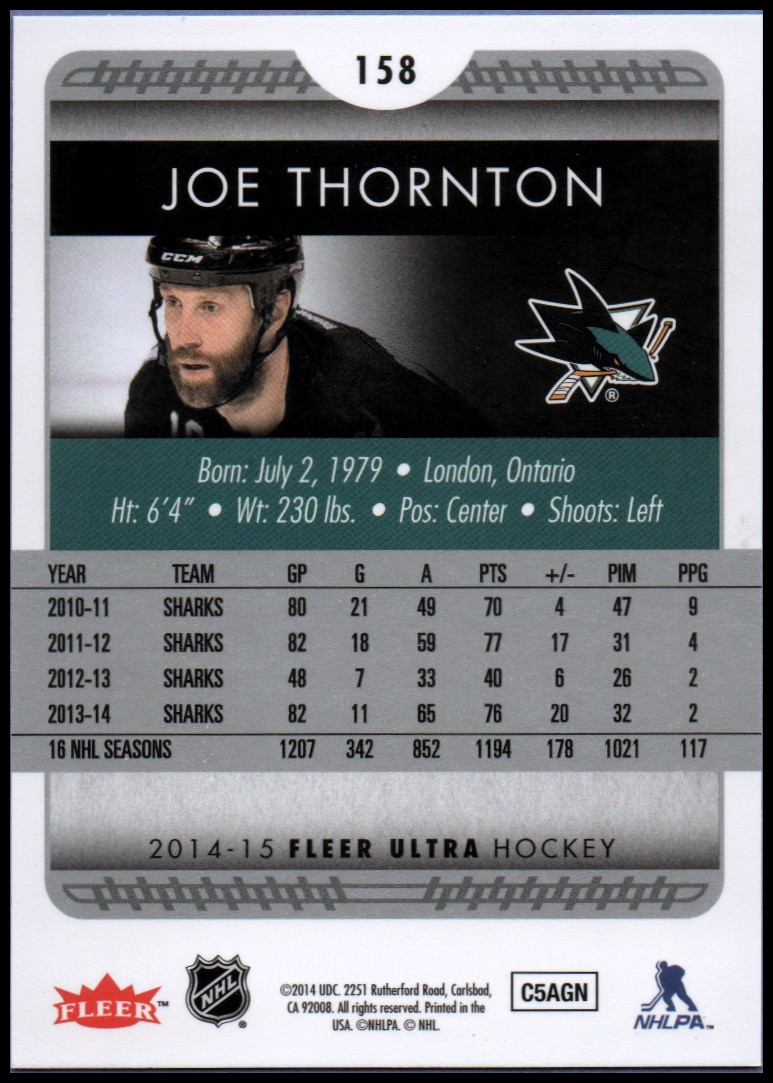 2014-15-Ultra-Hockey-Card-s-1-200-Rookies-You-Pick-Buy-10-cards-FREE-SHIP thumbnail 313