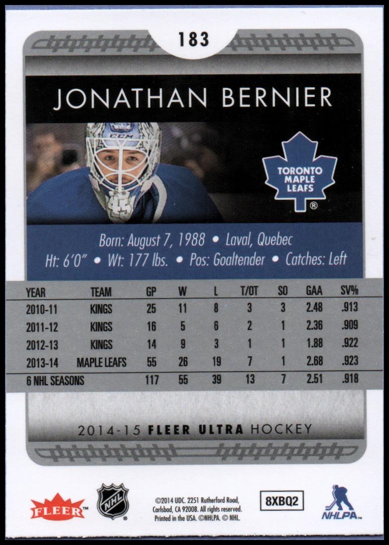 2014-15-Ultra-Hockey-Card-s-1-200-Rookies-You-Pick-Buy-10-cards-FREE-SHIP thumbnail 363
