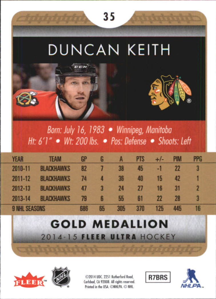2014-15-Ultra-Hk-Base-Gold-Inserts-Rookies-You-Pick-Buy-10-cards-FREE-SHIP thumbnail 58