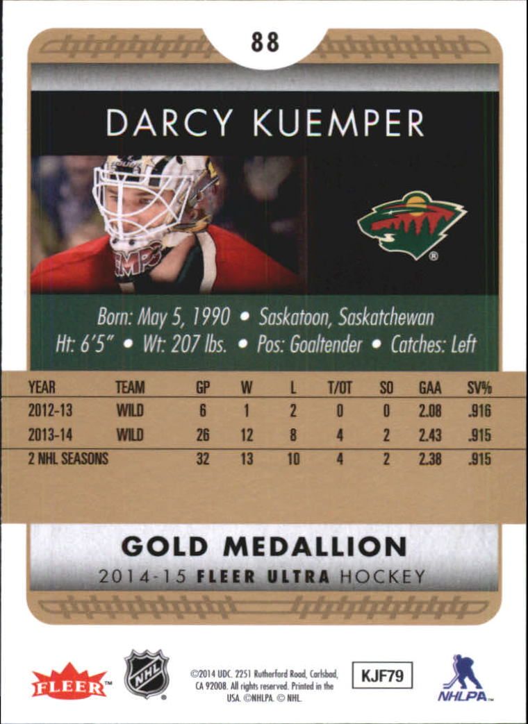 2014-15-Ultra-Hk-Base-Gold-Inserts-Rookies-You-Pick-Buy-10-cards-FREE-SHIP thumbnail 107