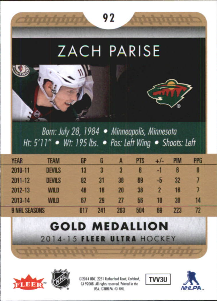 2014-15-Ultra-Hk-Base-Gold-Inserts-Rookies-You-Pick-Buy-10-cards-FREE-SHIP thumbnail 113