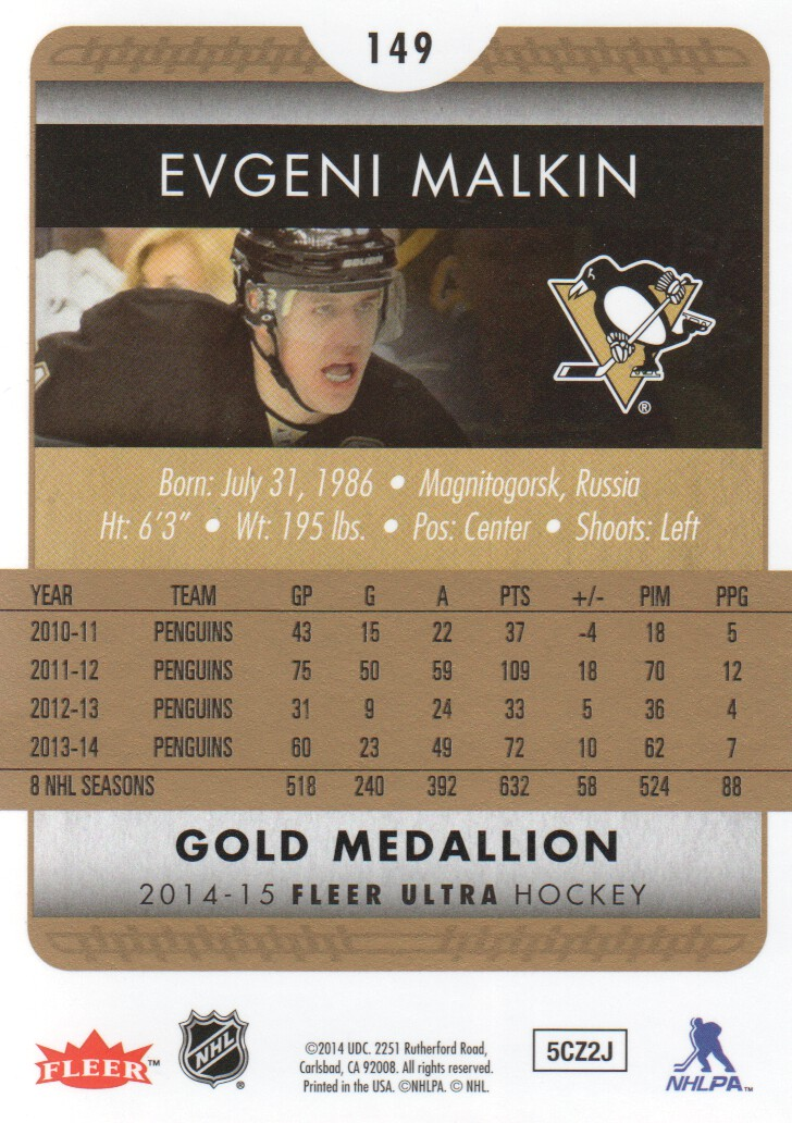 2014-15-Ultra-Hk-Base-Gold-Inserts-Rookies-You-Pick-Buy-10-cards-FREE-SHIP thumbnail 146