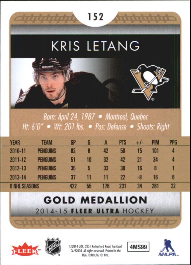 2014-15-Ultra-Hk-Base-Gold-Inserts-Rookies-You-Pick-Buy-10-cards-FREE-SHIP thumbnail 150
