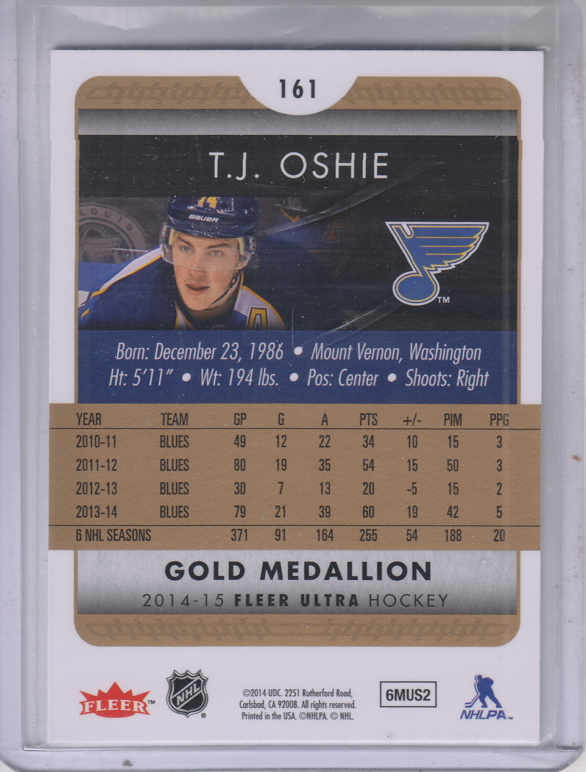 2014-15-Ultra-Hk-Base-Gold-Inserts-Rookies-You-Pick-Buy-10-cards-FREE-SHIP thumbnail 158