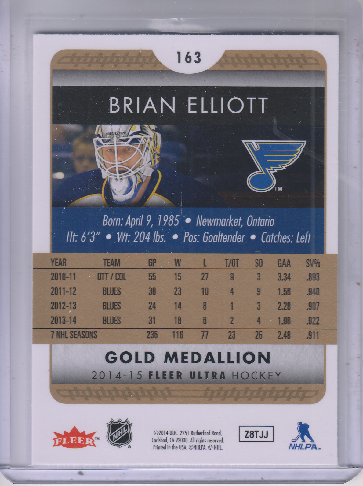2014-15-Ultra-Hk-Base-Gold-Inserts-Rookies-You-Pick-Buy-10-cards-FREE-SHIP thumbnail 160