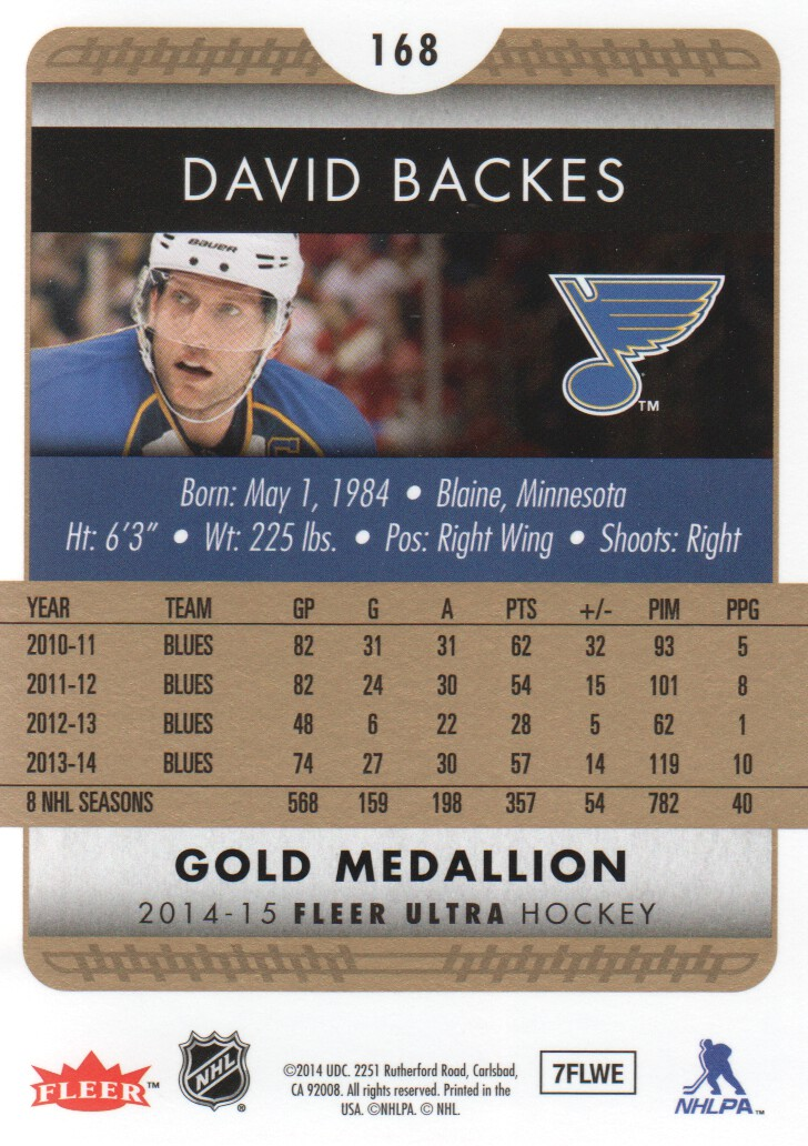 2014-15-Ultra-Hk-Base-Gold-Inserts-Rookies-You-Pick-Buy-10-cards-FREE-SHIP thumbnail 164