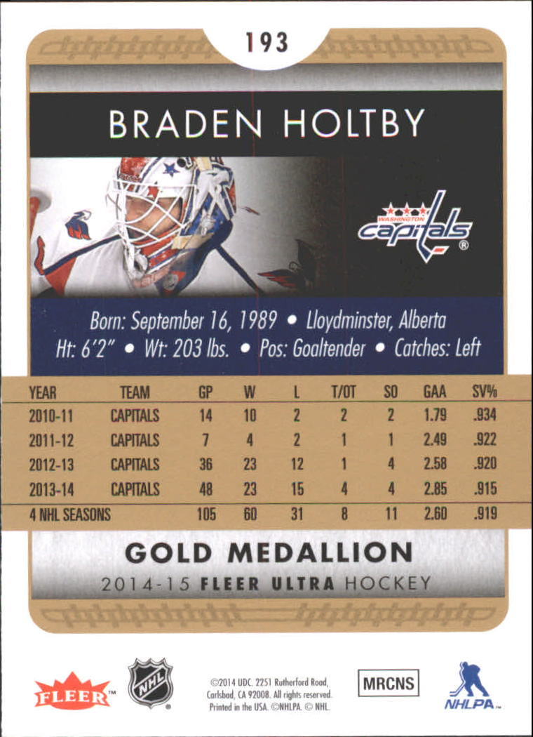 2014-15-Ultra-Hk-Base-Gold-Inserts-Rookies-You-Pick-Buy-10-cards-FREE-SHIP thumbnail 185