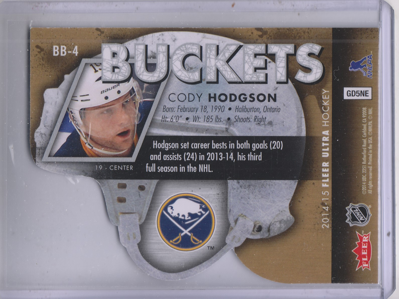 2014-15-Ultra-Hk-Base-Gold-Inserts-Rookies-You-Pick-Buy-10-cards-FREE-SHIP thumbnail 7