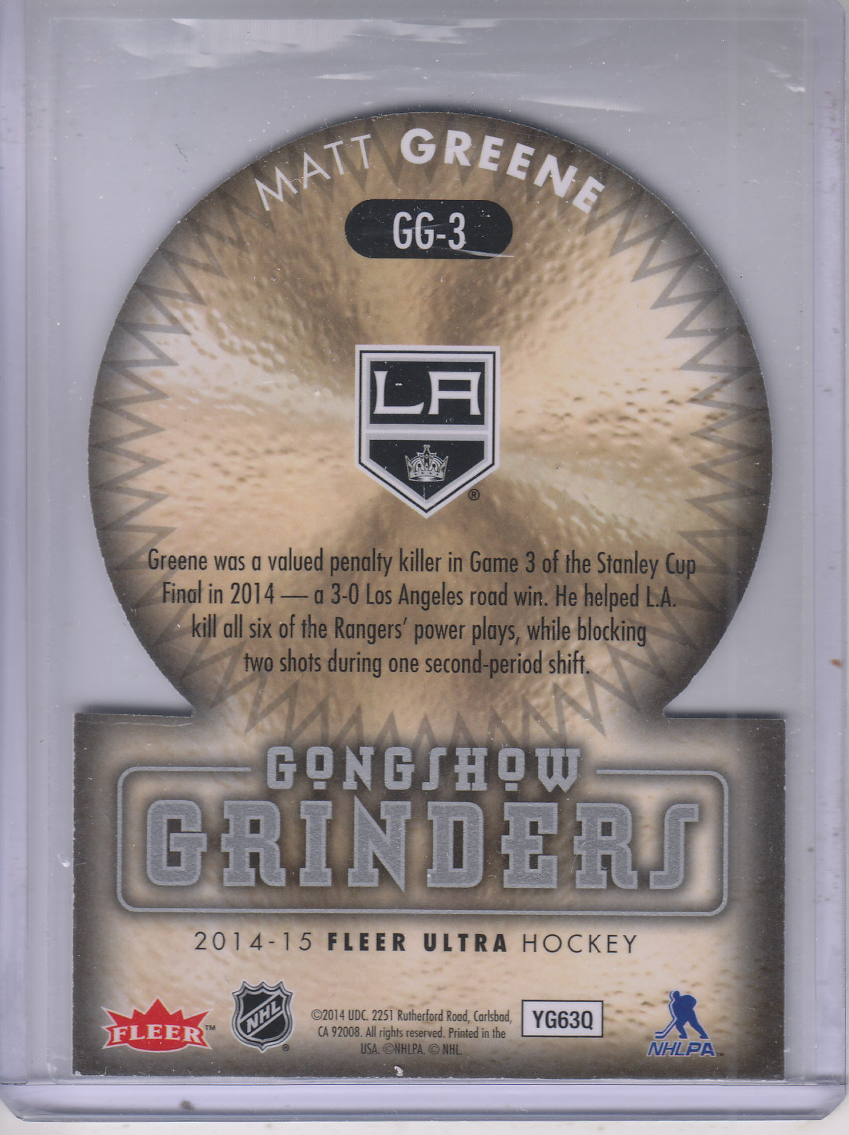 2014-15-Ultra-Hk-Base-Gold-Inserts-Rookies-You-Pick-Buy-10-cards-FREE-SHIP thumbnail 197