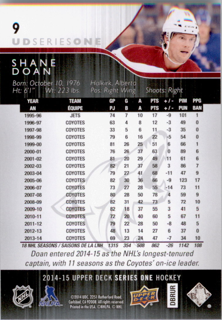2014-15-Upper-Deck-Hk-Card-s-1-250-Rookies-U-Pick-Buy-10-cards-FREE-SHIP thumbnail 19