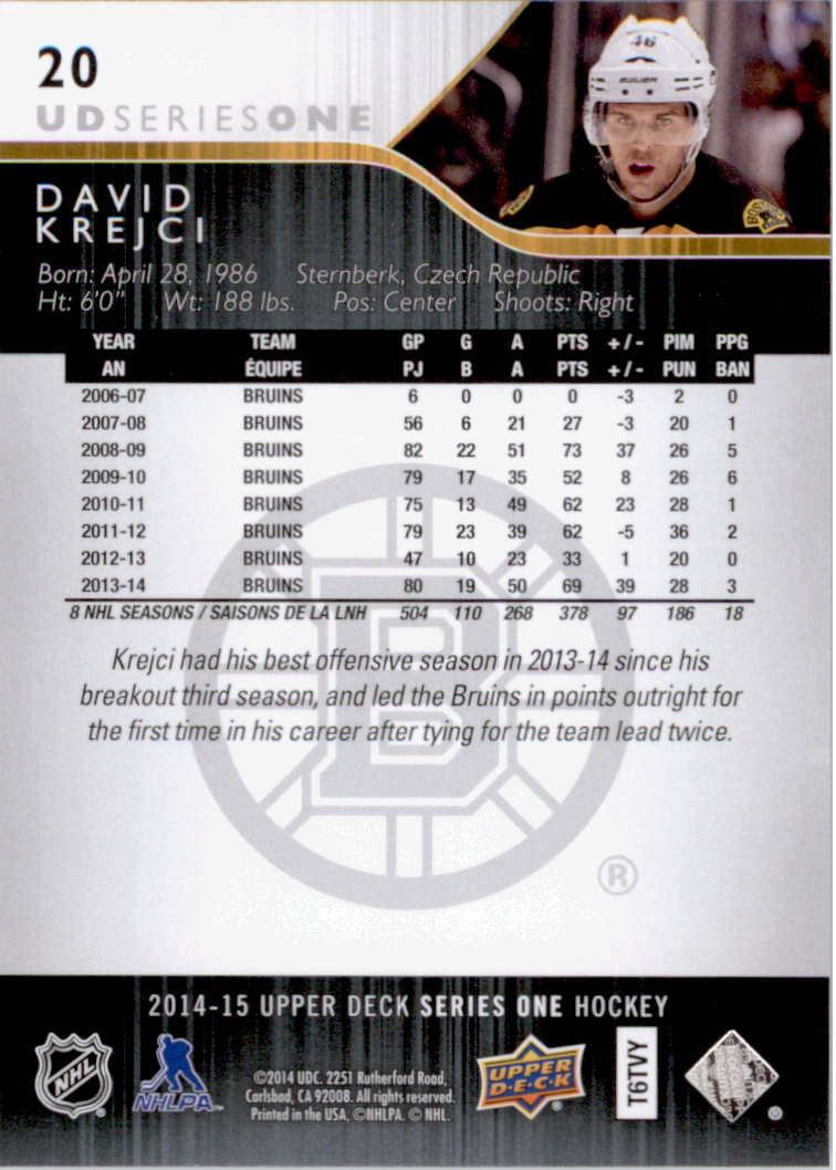 2014-15-Upper-Deck-Hk-Card-s-1-250-Rookies-U-Pick-Buy-10-cards-FREE-SHIP thumbnail 41