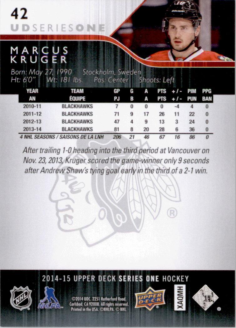 2014-15-Upper-Deck-Hk-Card-s-1-250-Rookies-U-Pick-Buy-10-cards-FREE-SHIP thumbnail 85