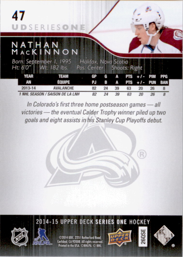 2014-15-Upper-Deck-Hk-Card-s-1-250-Rookies-U-Pick-Buy-10-cards-FREE-SHIP thumbnail 95