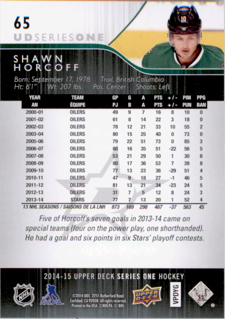 2014-15-Upper-Deck-Hk-Card-s-1-250-Rookies-U-Pick-Buy-10-cards-FREE-SHIP thumbnail 131