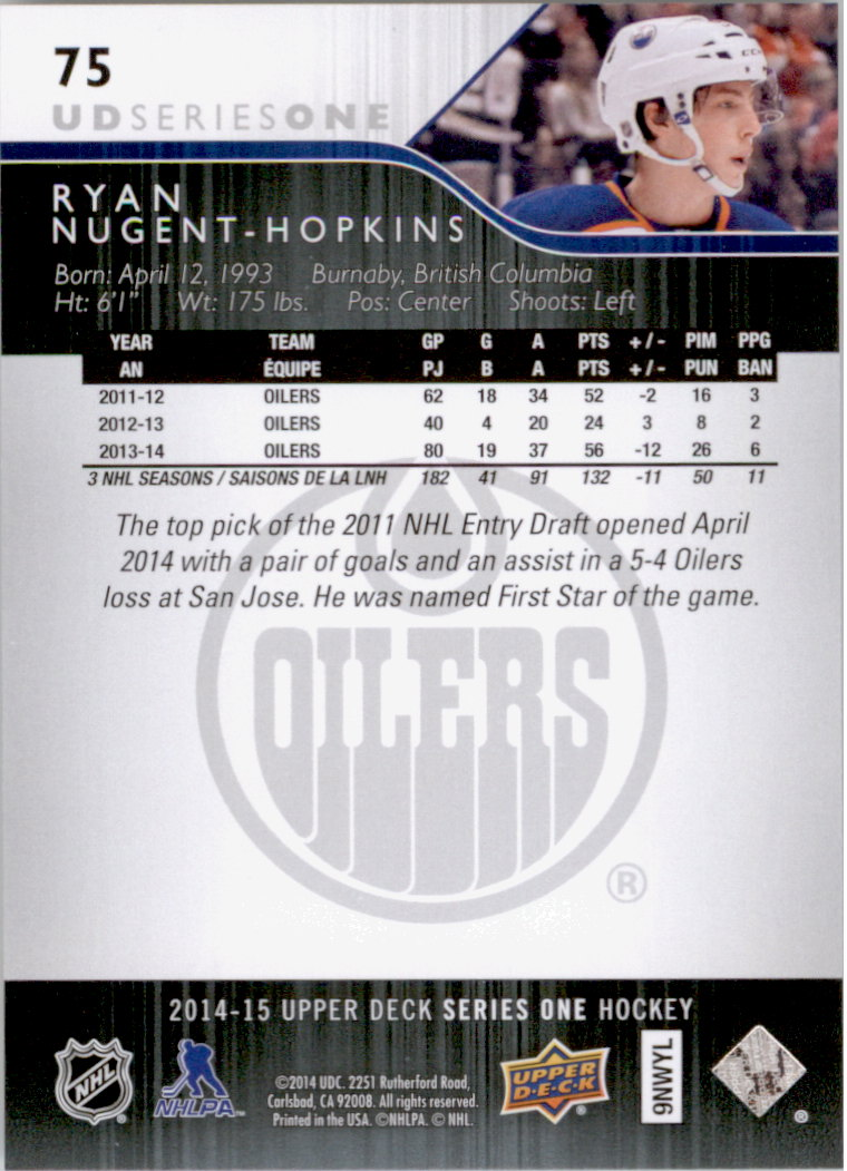 2014-15-Upper-Deck-Hk-Card-s-1-250-Rookies-U-Pick-Buy-10-cards-FREE-SHIP thumbnail 151