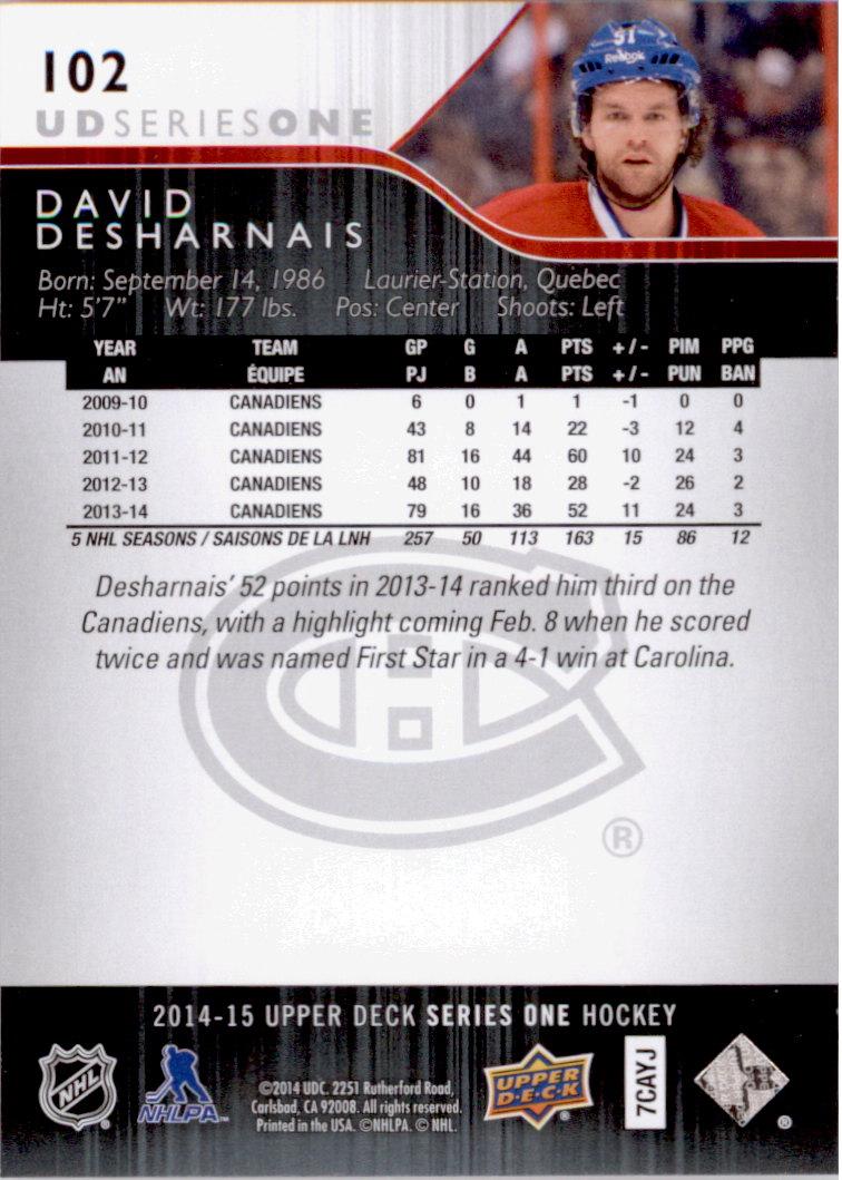 2014-15-Upper-Deck-Hk-Card-s-1-250-Rookies-U-Pick-Buy-10-cards-FREE-SHIP thumbnail 205