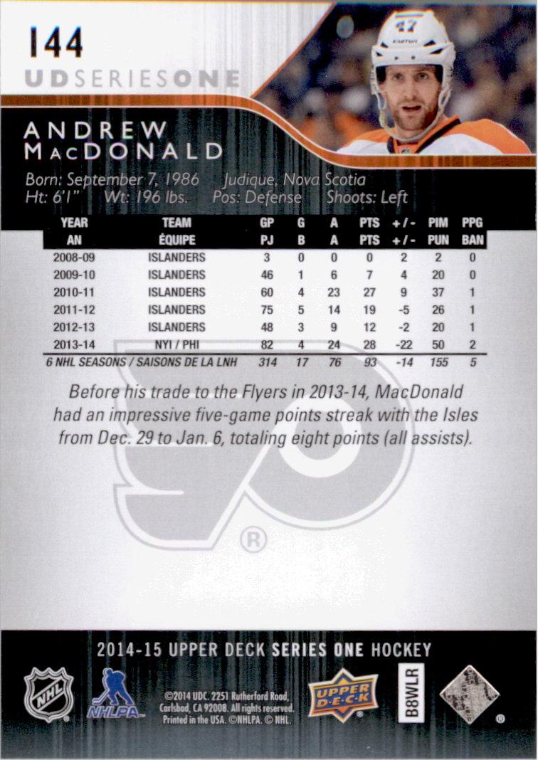 2014-15-Upper-Deck-Hk-Card-s-1-250-Rookies-U-Pick-Buy-10-cards-FREE-SHIP thumbnail 289
