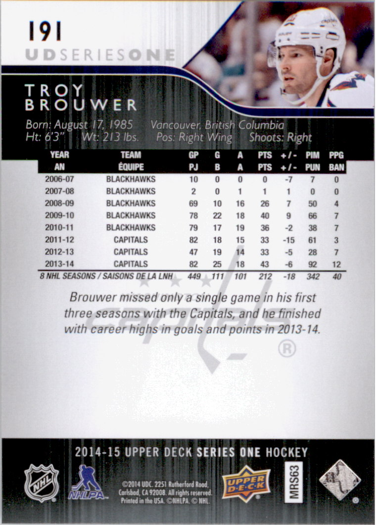 2014-15-Upper-Deck-Hk-Card-s-1-250-Rookies-U-Pick-Buy-10-cards-FREE-SHIP thumbnail 391