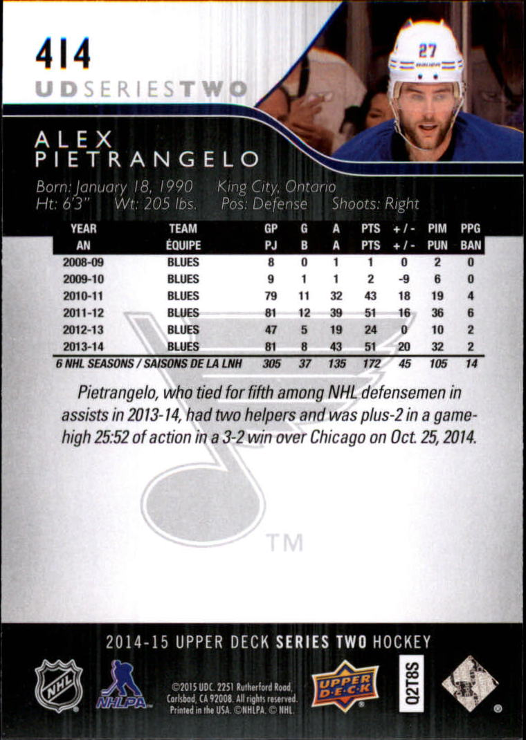 2014-15-Upper-Deck-Hk-039-s-251-500-Rookies-You-Pick-Buy-10-cards-FREE-SHIP thumbnail 229