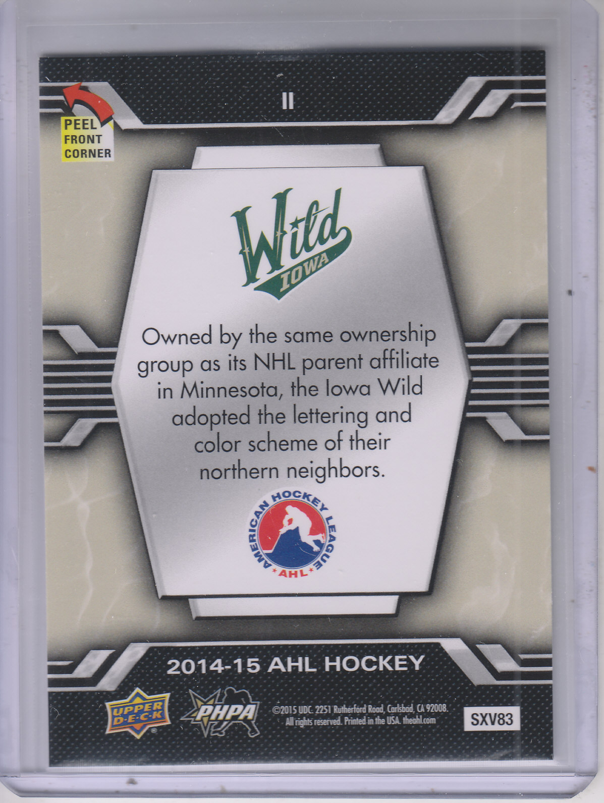 2014-15-Upper-Deck-AHL-Hk-039-s-Logo-Stickers-You-Pick-Buy-10-cards-FREE-SHIP thumbnail 23