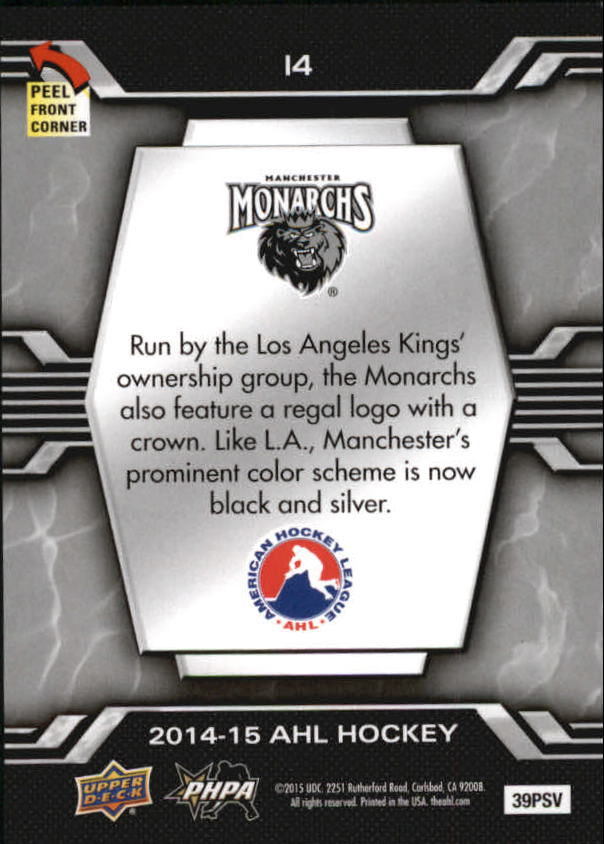 2014-15-Upper-Deck-AHL-Hk-039-s-Logo-Stickers-You-Pick-Buy-10-cards-FREE-SHIP thumbnail 29