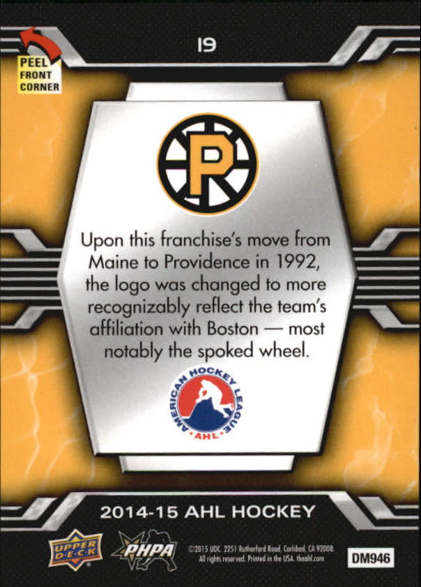 2014-15-Upper-Deck-AHL-Hk-039-s-Logo-Stickers-You-Pick-Buy-10-cards-FREE-SHIP thumbnail 39
