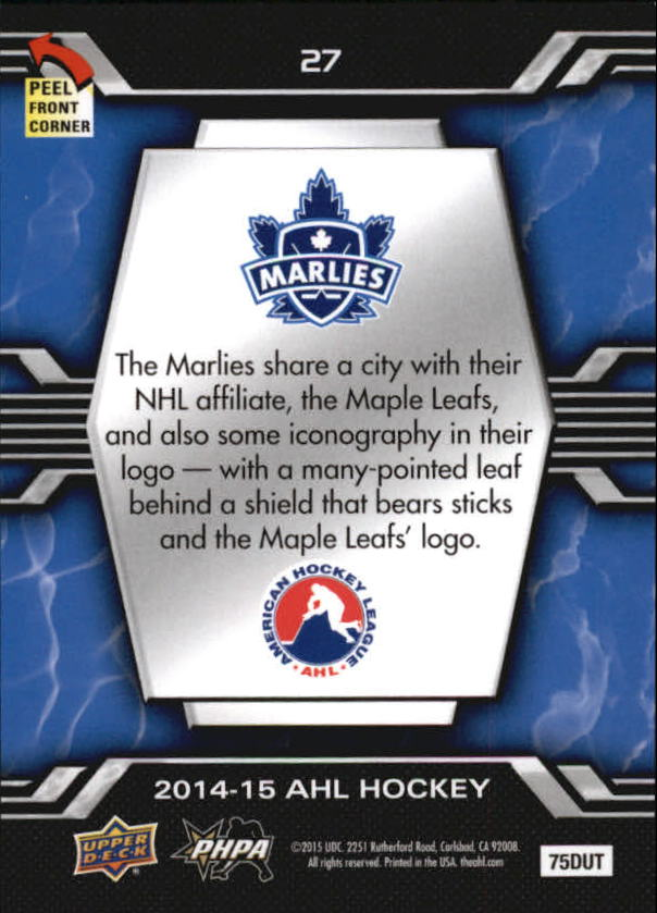 2014-15-Upper-Deck-AHL-Hk-039-s-Logo-Stickers-You-Pick-Buy-10-cards-FREE-SHIP thumbnail 55