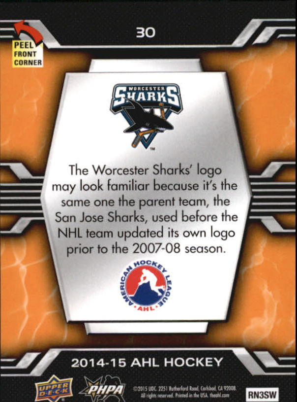 2014-15-Upper-Deck-AHL-Hk-039-s-Logo-Stickers-You-Pick-Buy-10-cards-FREE-SHIP thumbnail 61