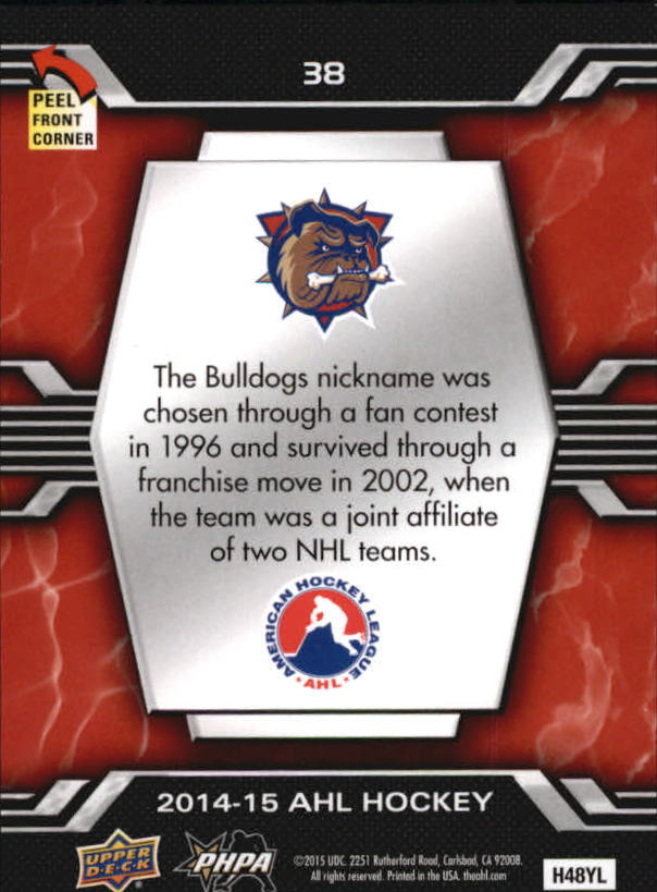2014-15-Upper-Deck-AHL-Hk-039-s-Logo-Stickers-You-Pick-Buy-10-cards-FREE-SHIP thumbnail 77