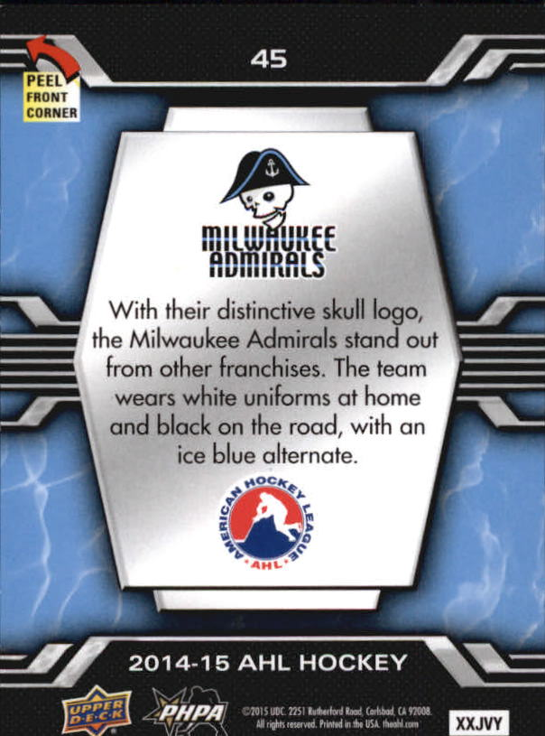 2014-15-Upper-Deck-AHL-Hk-039-s-Logo-Stickers-You-Pick-Buy-10-cards-FREE-SHIP thumbnail 89