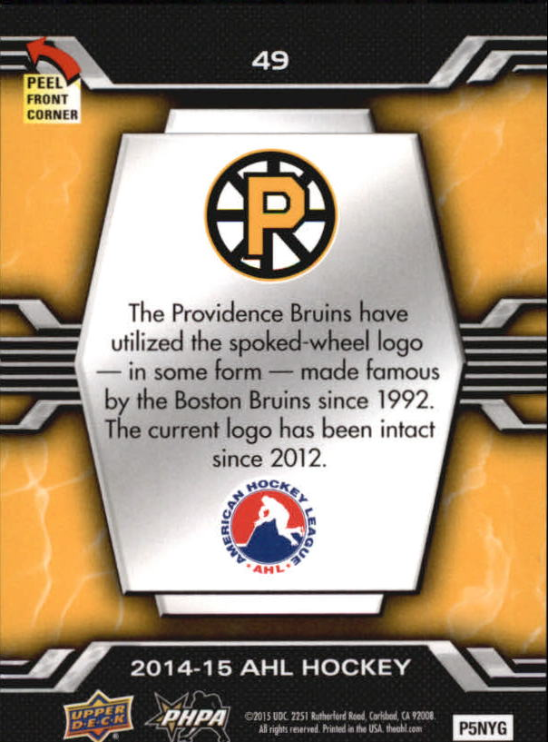 2014-15-Upper-Deck-AHL-Hk-039-s-Logo-Stickers-You-Pick-Buy-10-cards-FREE-SHIP thumbnail 97