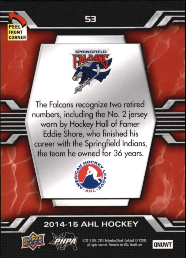 2014-15-Upper-Deck-AHL-Hk-039-s-Logo-Stickers-You-Pick-Buy-10-cards-FREE-SHIP thumbnail 105