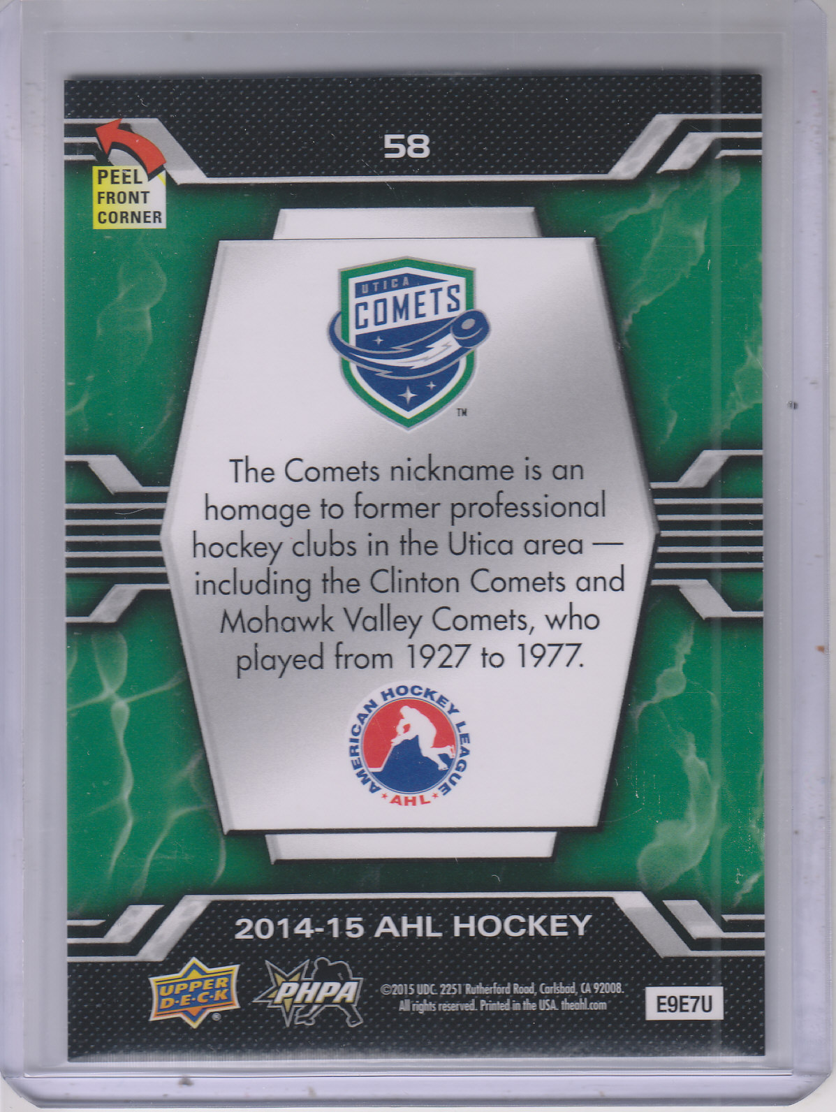 2014-15-Upper-Deck-AHL-Hk-039-s-Logo-Stickers-You-Pick-Buy-10-cards-FREE-SHIP thumbnail 113