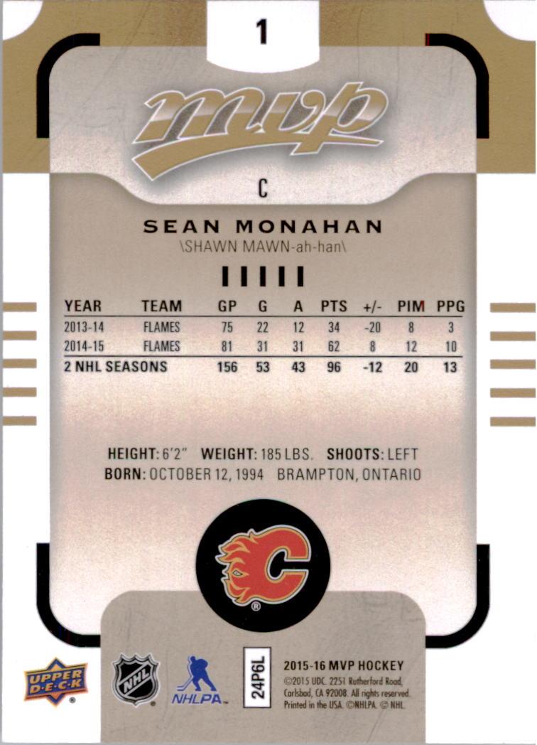 2015-16-Upper-Deck-MVP-Hockey-Card-Pick thumbnail 3