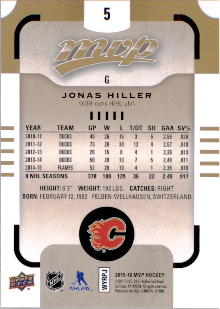 2015-16-Upper-Deck-MVP-Hockey-Card-Pick thumbnail 11