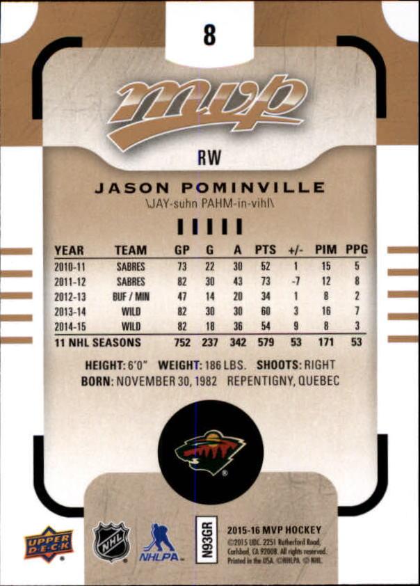 2015-16-Upper-Deck-MVP-Hockey-Card-Pick thumbnail 17