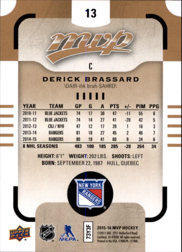 2015-16-Upper-Deck-MVP-Hockey-Card-Pick thumbnail 27