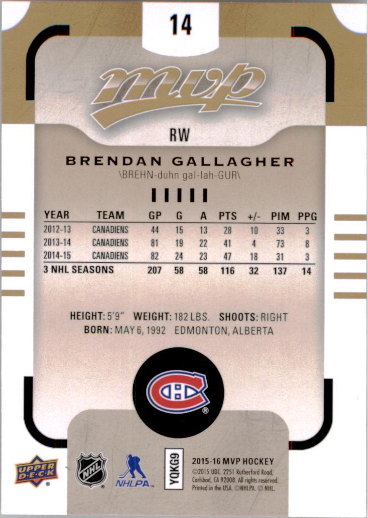 2015-16-Upper-Deck-MVP-Hockey-Card-Pick thumbnail 29